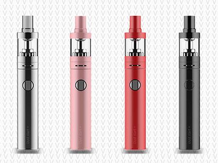 Cigarettes électroniques Vapote-Moi alignées