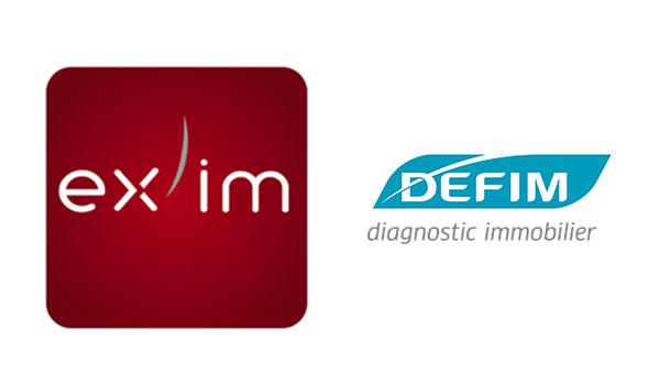 Logos d'Ex'im et Defim.