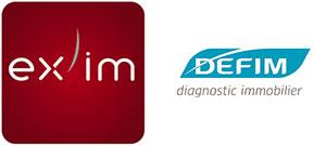 Logos des sociétés Ex'im et Defim