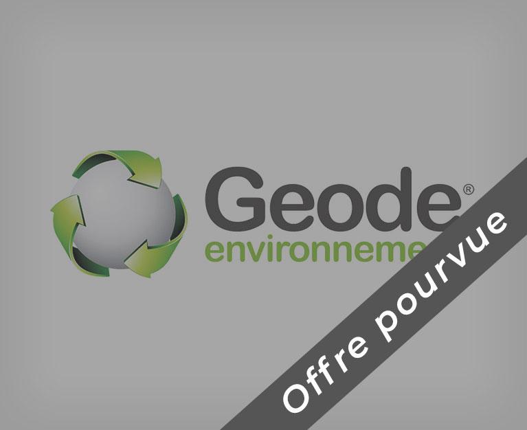 Offre pourvue Geode environnement